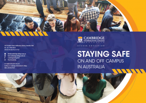 staying safe handbook
